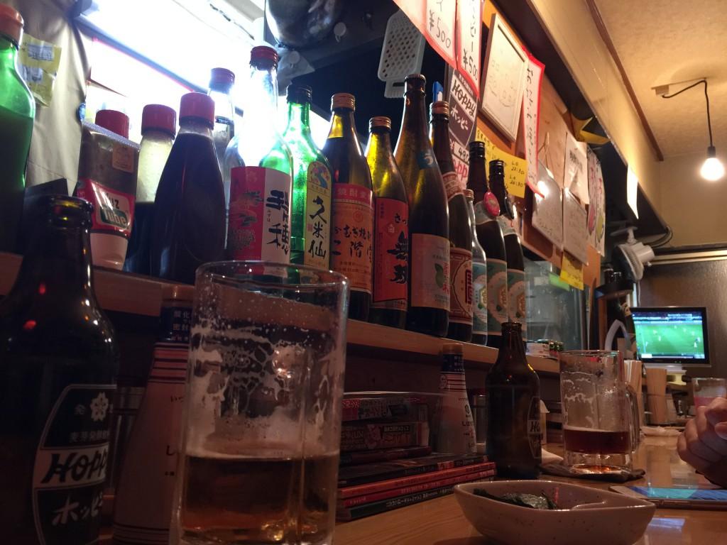 お酒いっぱいあるよ♪実は凄いウイスキーもあるよ♪