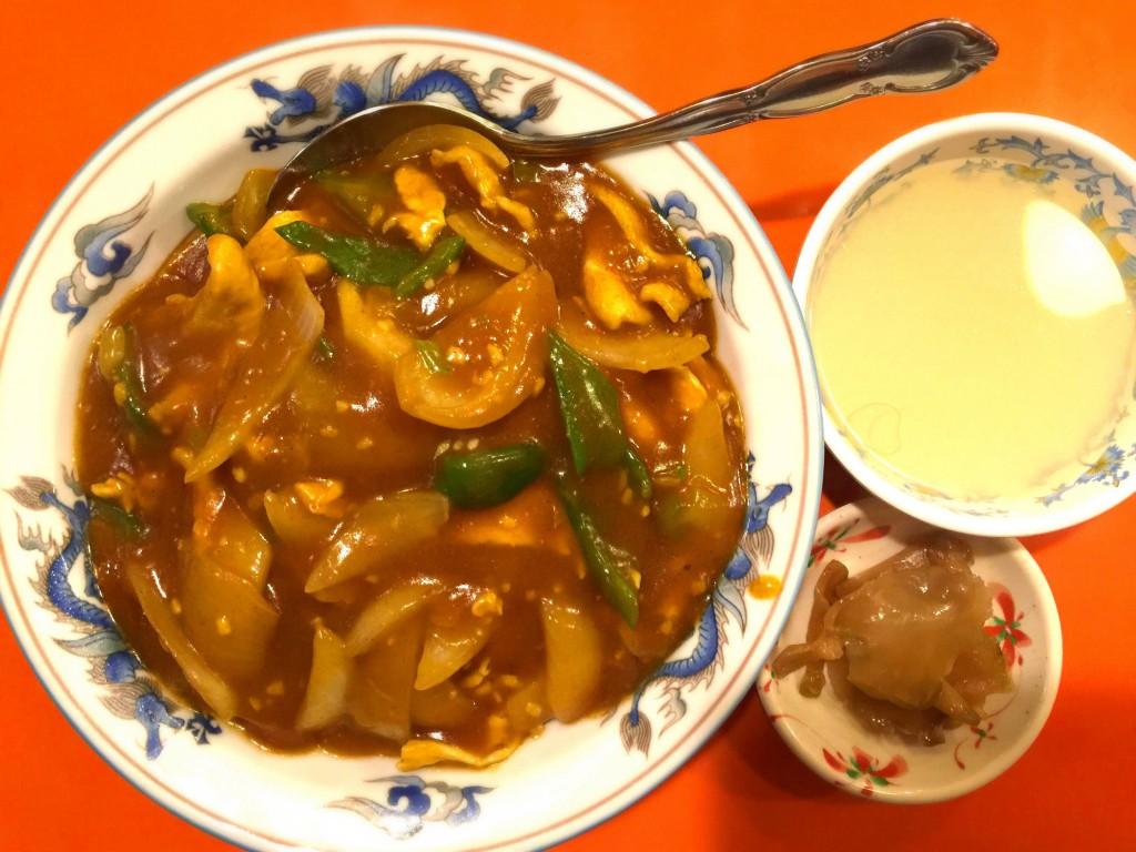 香州 かしう 中華風チキンカレー ¥750