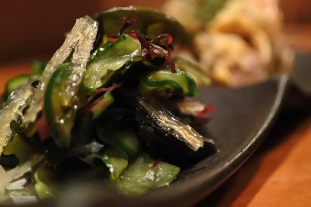 海藻と胡瓜のサラダ