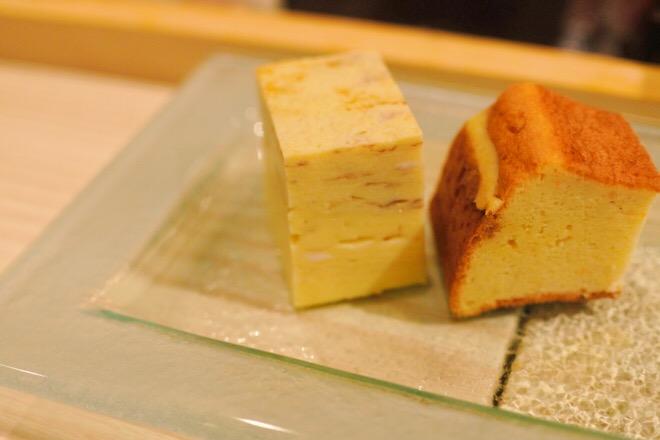 16330鮨肴匠くりや 卵焼き&カステラ