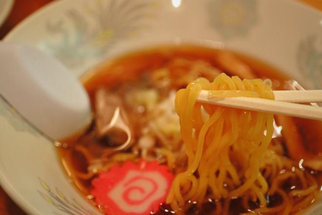 16406東京 五十番 醤油ラーメン 麺