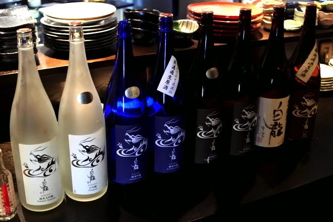 総勢8種類の銘酒たち
