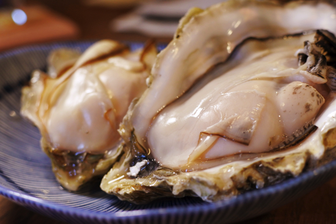 厚岸の牡蠣