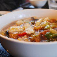 厨華房 曼田林の五目あんかけ湯麺
