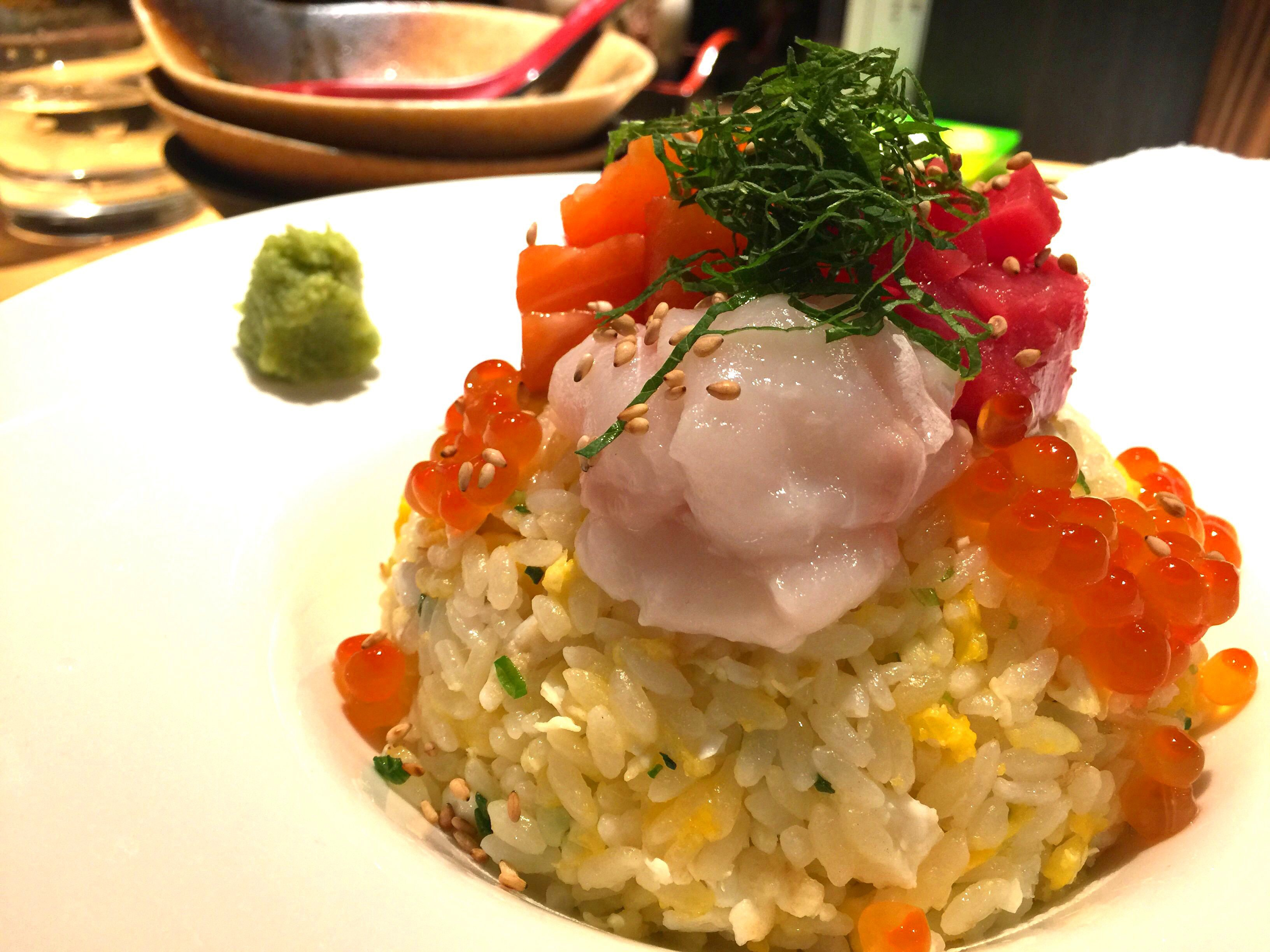 海鮮酢飯チャーハン