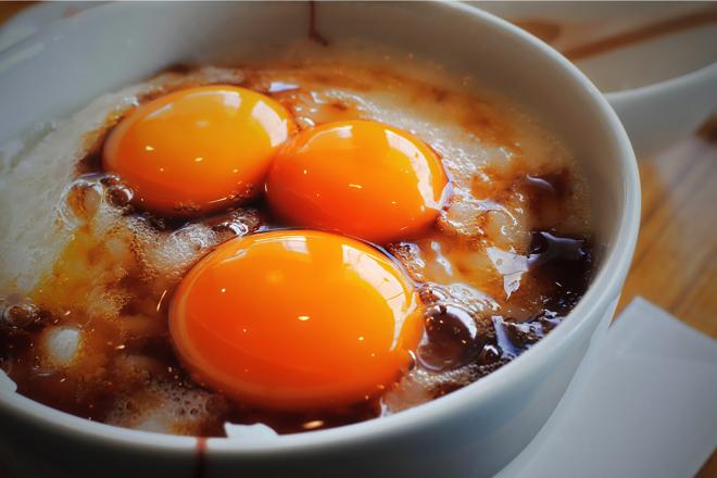 白老たまごの里マザーズ 卵かけご飯
